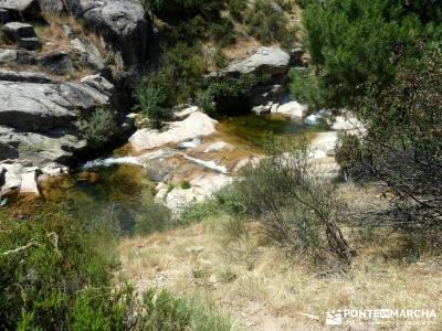 La Pedriza-Río Manzanares Madrid-Charca Verde; mochilas modelos cotos valdesqui